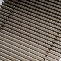 Алюминиевая решетка 230.1000 Бронза
