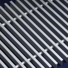 Алюминиевая решетка 380.1000 Сатин